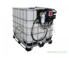 Container FDI- IBC cu pompa de distributie