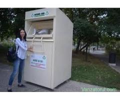 Container reciclare haine vechi