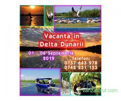 Vacanta in Delta Dunarii 01 – 06 Septembrie