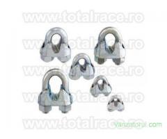 Bride cablu turnate DIN 741