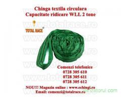 Chinga textila ridicare circulara 2 tone 1 metru