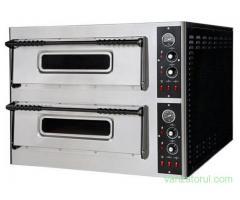 Cuptor pizza electric NOU 4+4 33cm trans.gr