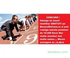 Castiga si tu marele premiu de 10.000 euro de la BazarulDeCase.ro