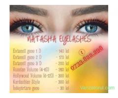 Curs, gene , extensii, fir, cu,  fir,  russian, eyeliner