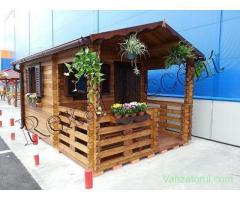 Casute de lemn cu terasa,  Casuta BRAN