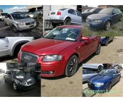 piese rezulate din dezmembrare pentru Audi A2 A3 A4 A6