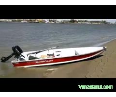 Vând barcă de aluminiu  MOTOCRAFT - Stare impecabilă