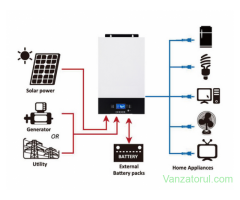 Invertor solar  5000W (5kw)