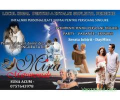 Matrimoniale Mira – cu experienta noastra de 30 de ani te vom insoti in cautarea Iubirii