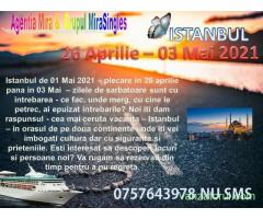 Vacanta 01 Mai 2021 im Istanbul