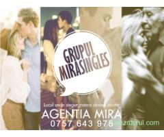 Grupul MiraSingles – locul ideal pentru a spune ADIO, SINGURATATE