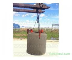Clesti pentru manevrarea verticala a tuburilor de beton  Total Race