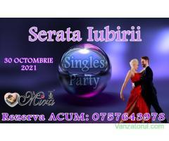 SERATA IUBIRII~  30 Octombrie– party pentru cei singuri