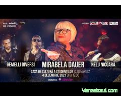 Concert MIRABELA DAUER- 04 DECEMBRIE 2021